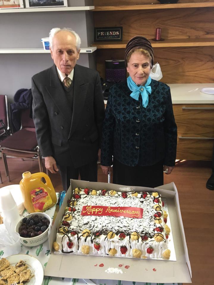 Familia Toader – aniversare a 54 de ani de casatorie
